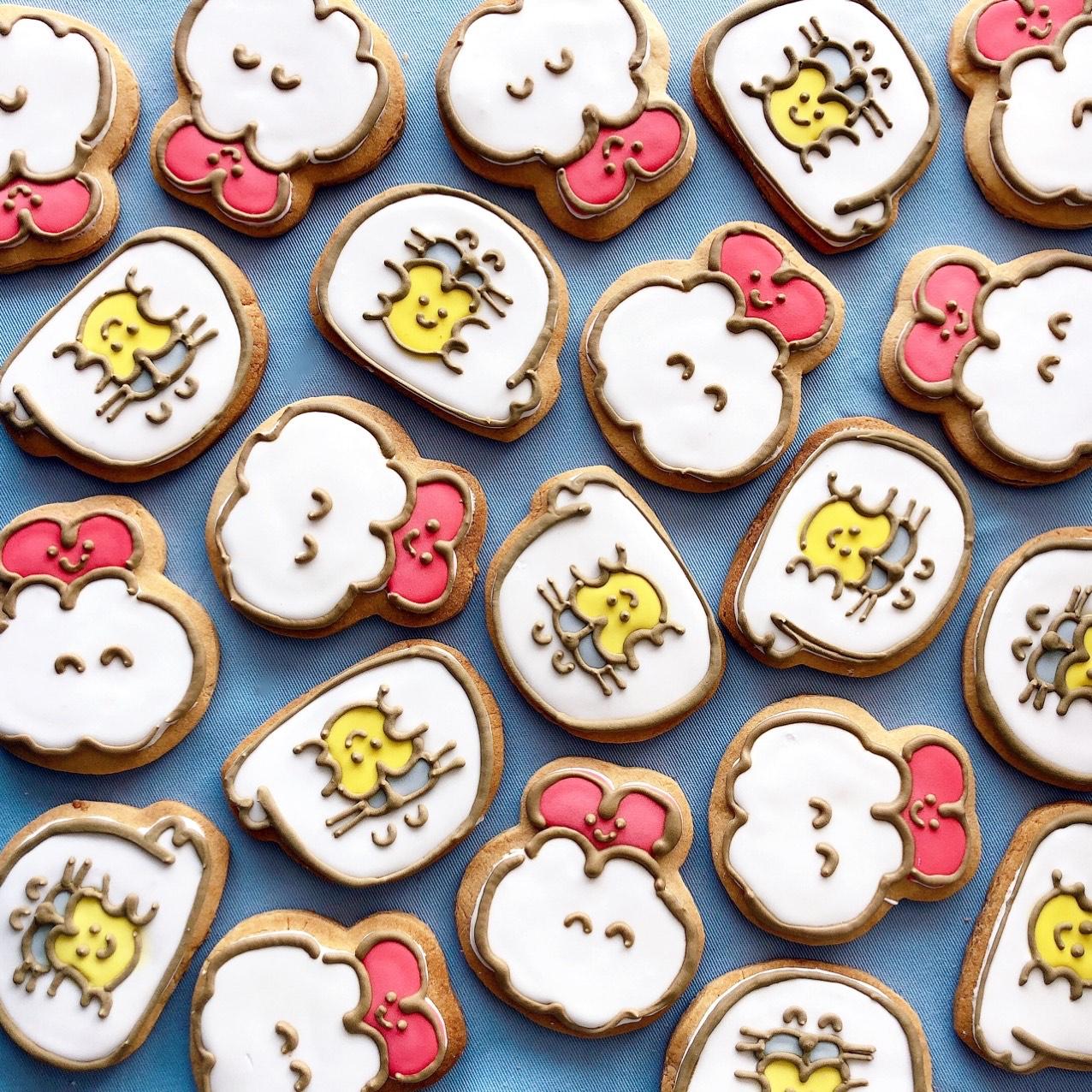 大人気のアイシングクッキーが大阪ルクアPUPUPにて3/20より発売!