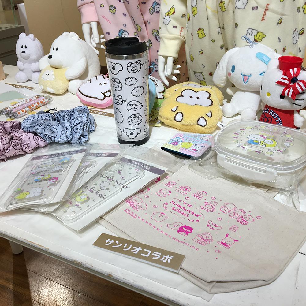 『もくもくちゃん原画展』新宿マルイ本館 7F