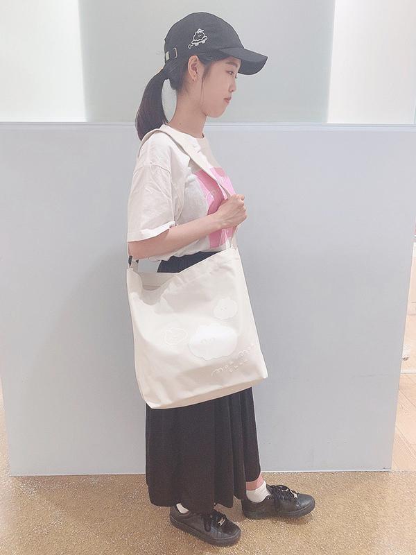 【Tシャツフェア対象】スクエアウサビッグプリントTee(MK-159)
