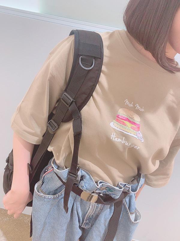 【Tシャツフェア対象】ハンバーガーBIG Tee(MK-162)