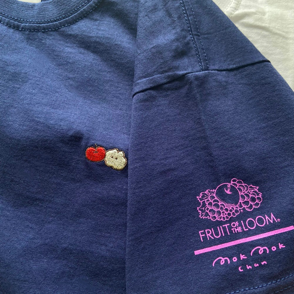 『Fruit of the Loom × もくもくちゃん』コラボ決定!