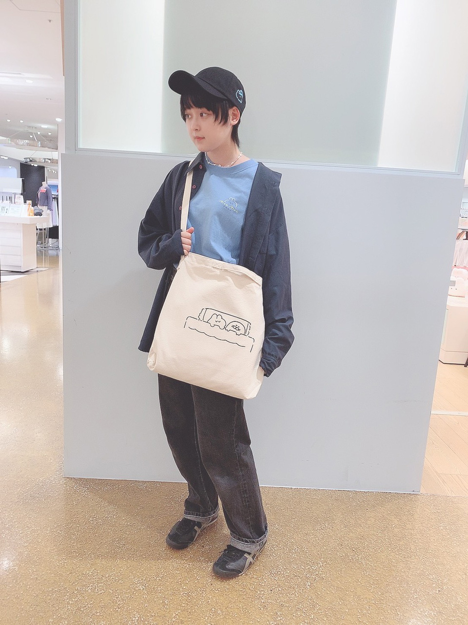 もくもくちゃんスタッフコーデ・01